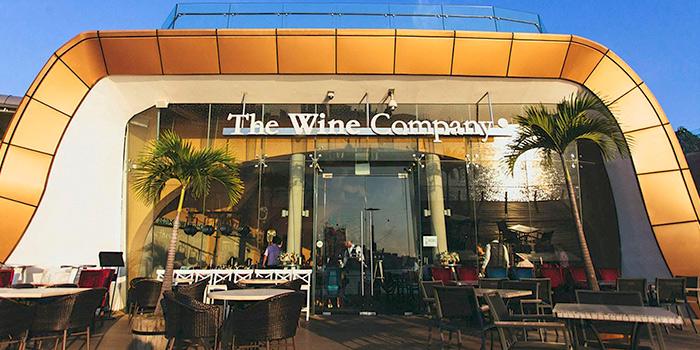 Exterior of The Wine Company (Sentosa Boardwalk) in Sentosa, Singapore
