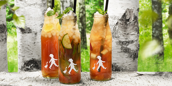 Ice Teas from Hans Im Gluck German Burgergrill in Orchard, Singapore