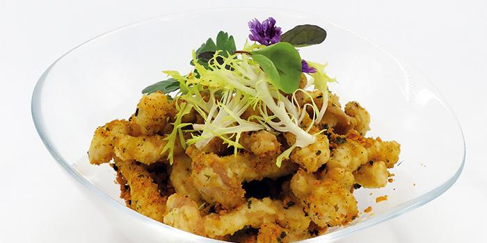 Deep Fried Honshimeiji Mushroom from Kuvo in Orchard, Singapore