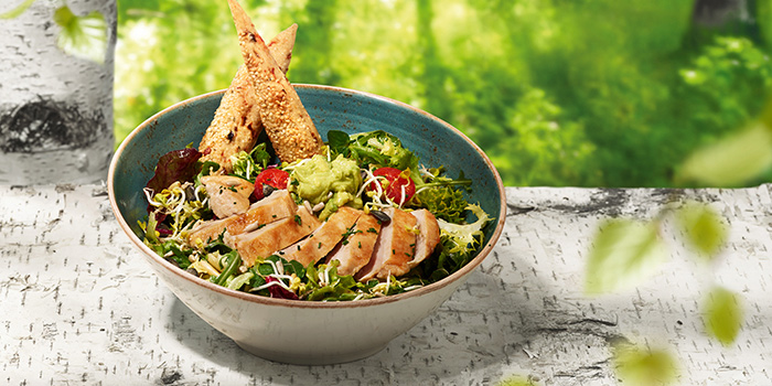 Salad BRAVUR from Hans Im Gluck German Burgergrill in Orchard, Singapore