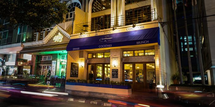 Exterior of Brasserie Cordonnier in Sukhumvit Soi 11, Bangkok