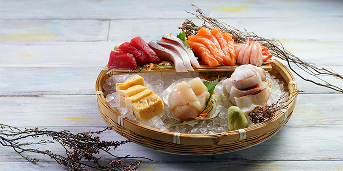 Assorted Japanese Sashimi, Café on M, Tsim Sha Tsui, Hong Kong