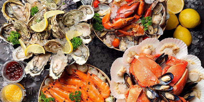Seafood from Atrium Restaurant in Holiday Inn Singapore Atrium in Outram, Singapore