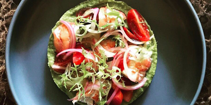 Avocado Salad from La Casa Nostra at 22 Sathorn 1 Alley Yak 2 (Soi Goethe) Thung Maha Mek Sathorn, Bangkok