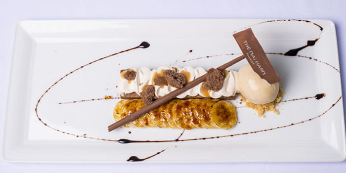 Banoffee-pie-The-Nai-Harn-style from Cosmo in Nai Harn, Phuket, Thailand.