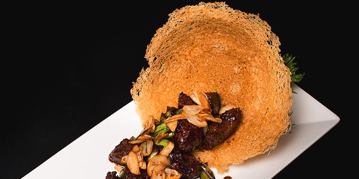 Black Pepper Beef Tenderloin from Dragon Tooth Gate 龍牙門 in Telok Blangah, Singapore
