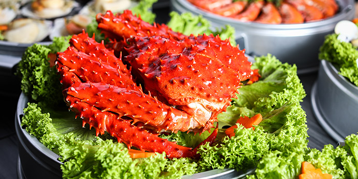Alaska King Crab Crab from Captain K Seafood Tower (Middle Road) at Midland House in Bugis, Singapore
