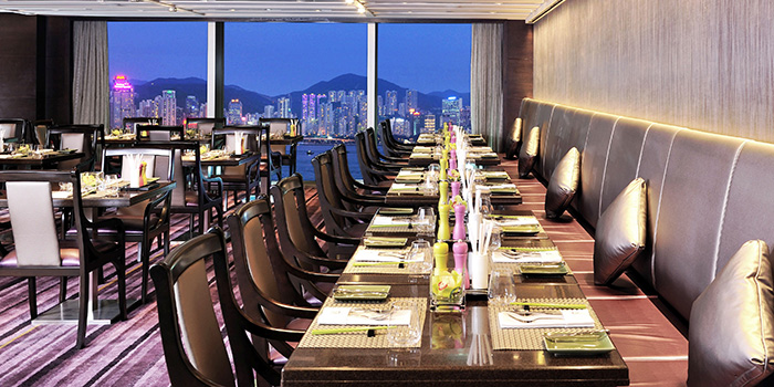 Dining Area, Café on M, Tsim Sha Tsui, Hong Kong