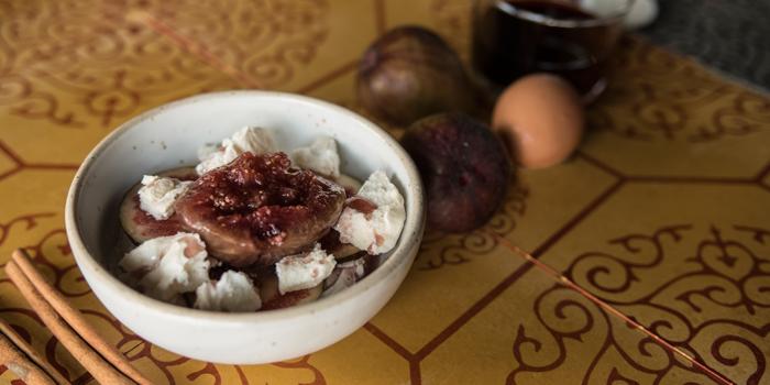 Fig in Sangria from Kika Kitchen & Bar at 14 Convent Rd, Silom, Bang Rak, Bangkok