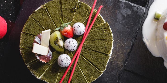 Green Tea Cake from Feast at Royal Orchid Sheraton Hotel & Towers, Bangkok