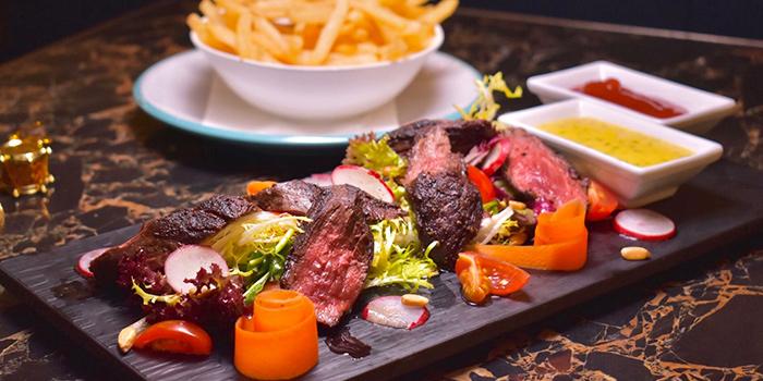 ValentinesDay Grilled U.S. Hanger Steak, Eiffel Bistro, Taikoo Shing, Hong Kong