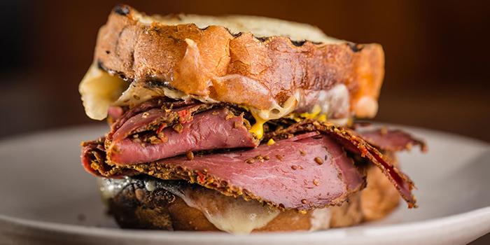 Reuben Sandwich from Moosehead Kitchen & Bar on Telok Ayer Street in Raffles Place, Singapore