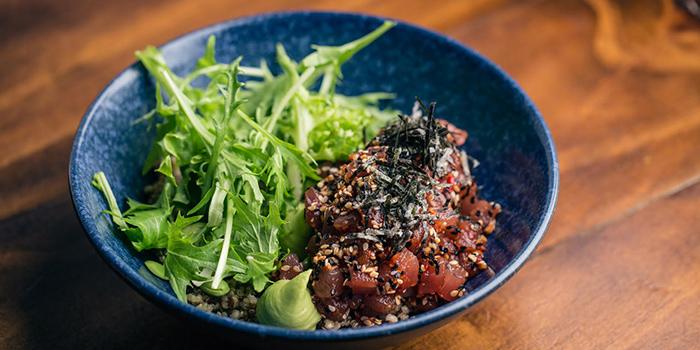 Spicy Tuna & Quinoa Bowl from Moosehead Kitchen & Bar on Telok Ayer Street in Raffles Place, Singapore