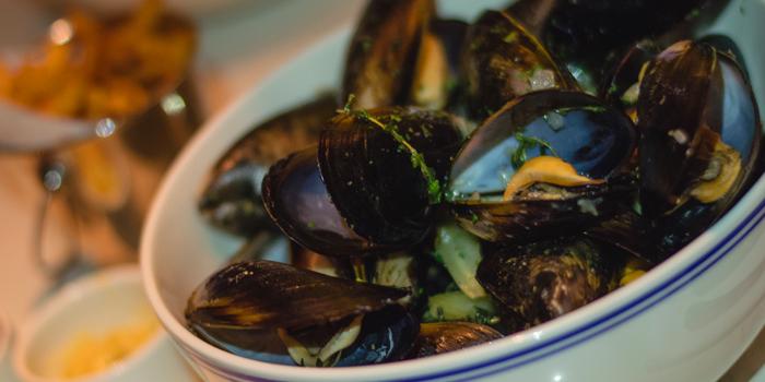 Mussels from Brasserie Cordonnier in Sukhumvit Soi 11, Bangkok
