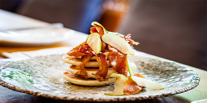 Apple Bacon Pancake from PORTA in Park Hotel Clarke Quay in Robertson Quay, Singapore