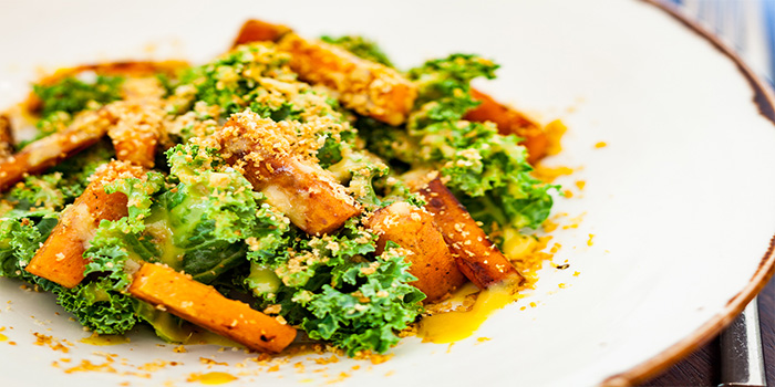 Sweet Potato and Kale from PORTA in Park Hotel Clarke Quay in Robertson Quay, Singapore