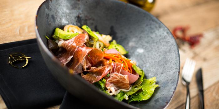 Parma Ham Salad from The Firm at Sukhumvit 33 Alley Bangkok, Thailand