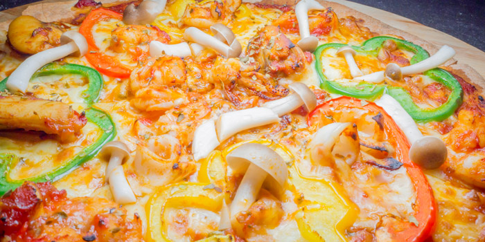 Pizza-Andaman-Seafood from Roy Dee Restaurant in Kata, Phuket, Thailand