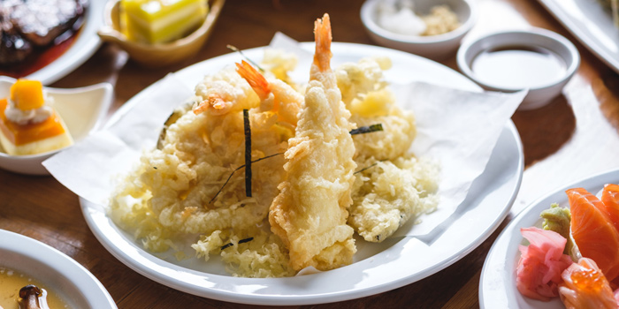 Prawn Tempura from Feast at Royal Orchid Sheraton Hotel & Towers, Bangkok