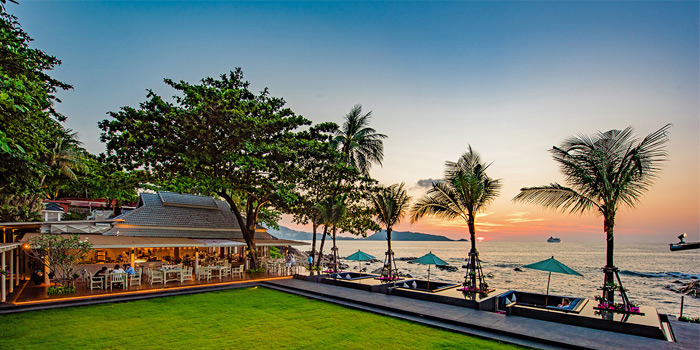 Restaurant Atmosphere of Sea Salt Lounge & Grill in Patong, Phuket, Thailand.
