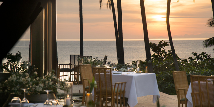 Restaurant Atmosphere of Thai Restaurant in Cherngtalay, Phuket, Thailand.