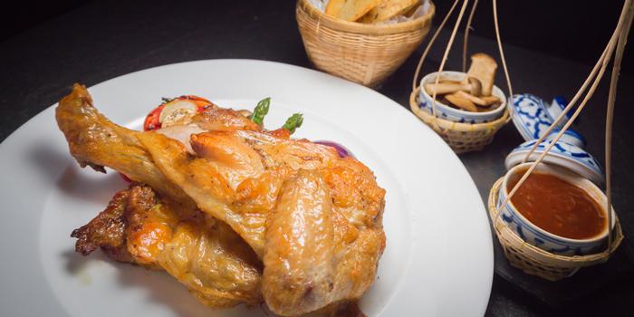Roasted-Spring-Chicken from Roy Dee Restaurant in Kata, Phuket, Thailand