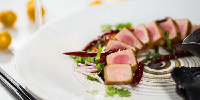 Seared Tuna from The Firm at Sukhumvit 33 Alley Bangkok, Thailand