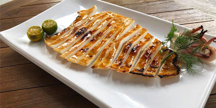 Pan Fried Squid from SHAO in Kembangan, Singapore