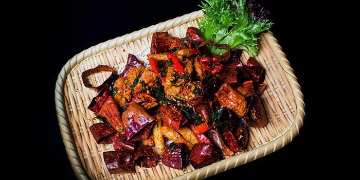 Sichuan Spicy Chicken from Dragon Tooth Gate 龍牙門 in Telok Blangah, Singapore