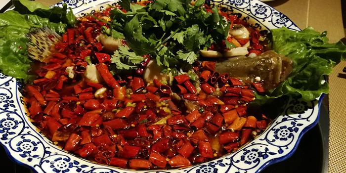 Sichuan water-cooked fish, SiChuan Delicacy, Causeway Bay, Hong Kong