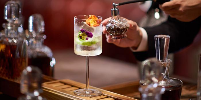 Signature Cocktail from Tables Grill Restaurant at Grand Hyatt Erawan, Bangkok