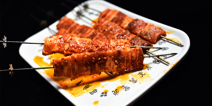 Pork Skewer from The Hungry Caveman at Orchard Central in Orchard, Singapore