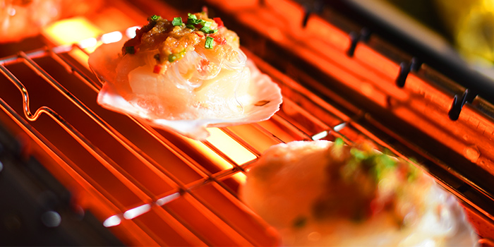 Scallop from The Hungry Caveman at Orchard Central in Orchard, Singapore