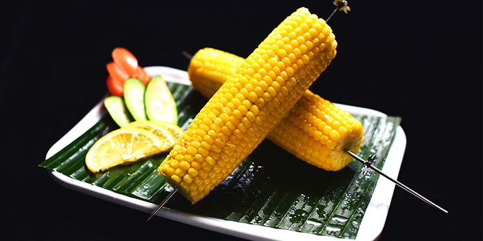 Sweet Corn Skewer from The Hungry Caveman at Orchard Central in Orchard, Singapore