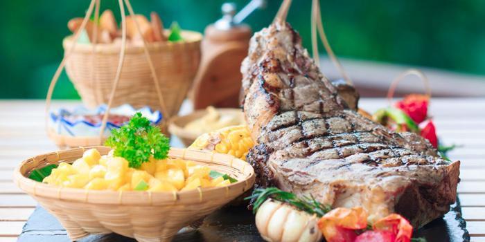 Tomahawk-Steak from Roy Dee Restaurant in Kata, Phuket, Thailand