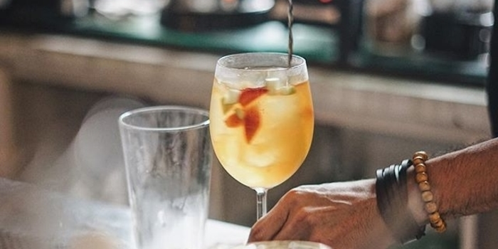 White Sangria by Glass at Gastromaquia, Jakarta