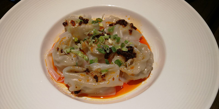 Wontons in sweet and savory and chilli oil, SiChuan Delicacy, Causeway Bay, Hong Kong