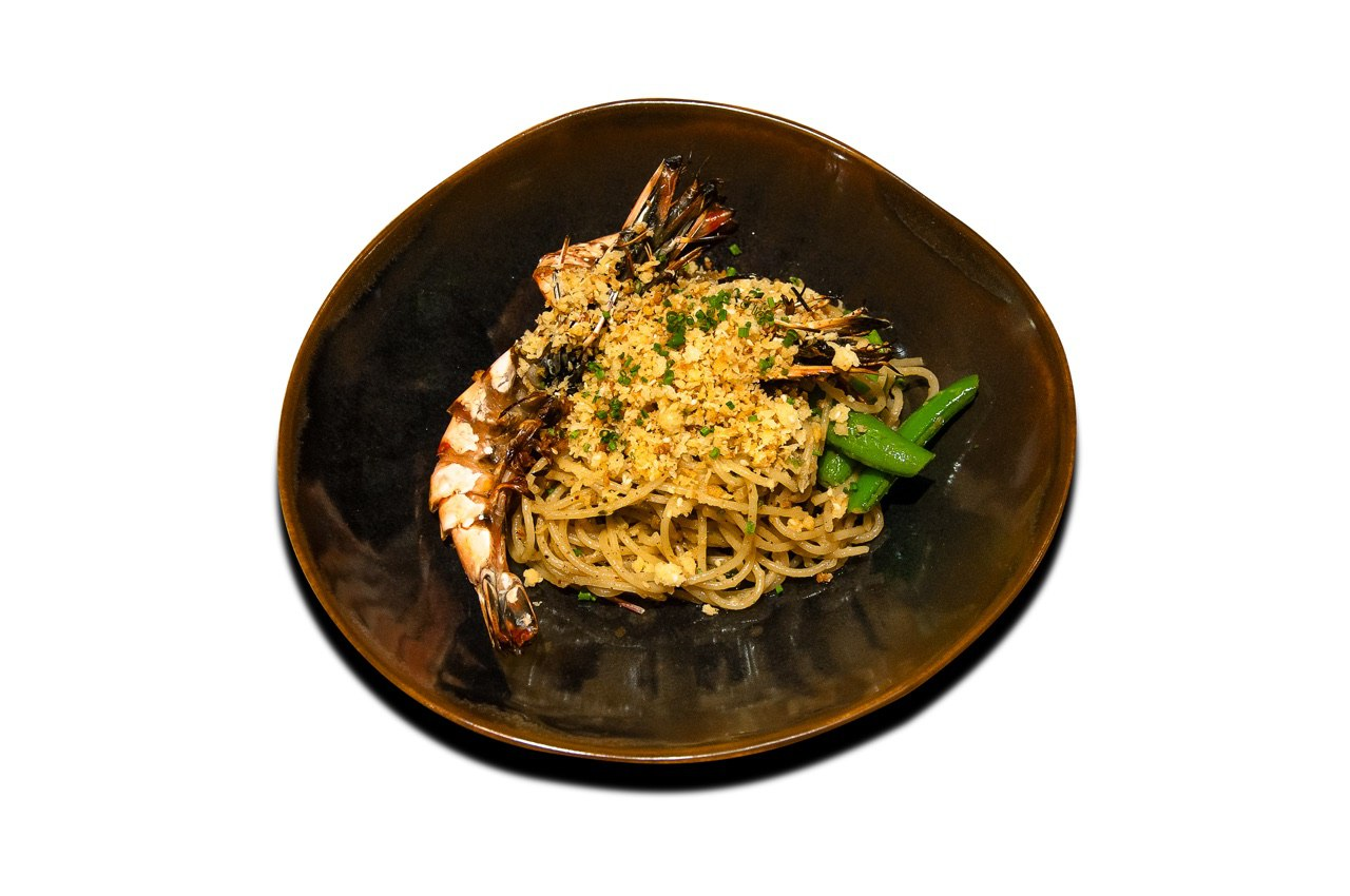 King Prawn Aglio Olio from 63Celsius (Paragon) in Orchard Road, Singapore