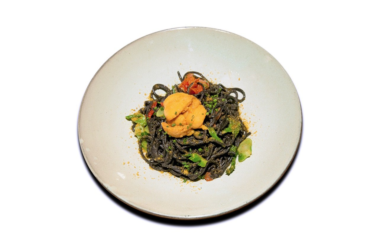 Squid Ink Uni Pasta from 63Celsius (Paragon) in Orchard Road, Singapore