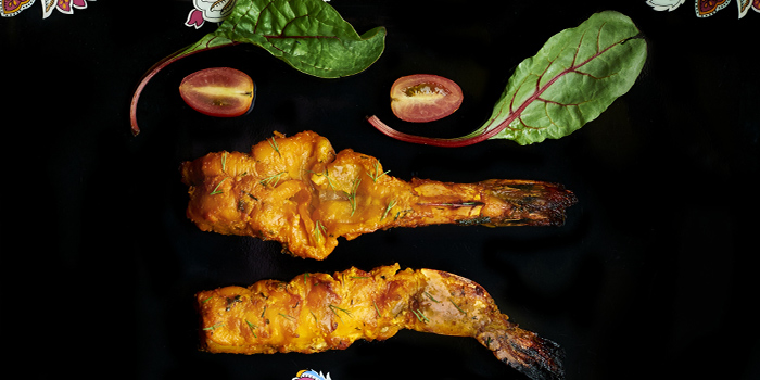 Szechuan Pepper Tandoori Jhinga from Tandoor in Holiday Inn Singapore Orchard City Centre in Orchard, Singapore