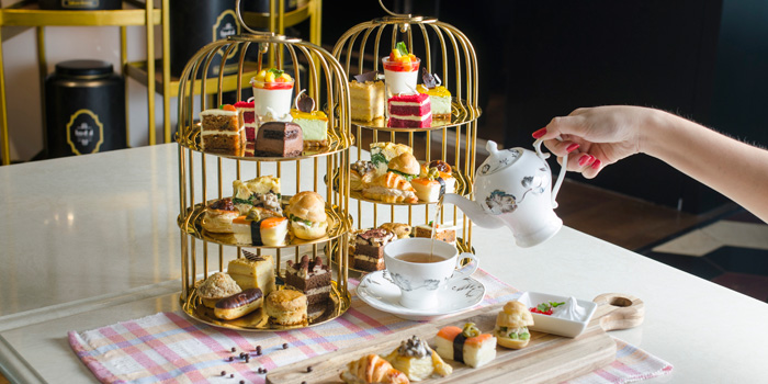 Afternoon Tea at Leaf Connoisseur, Pacific Place