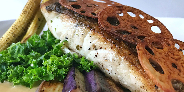Barramundi from Mad About Sucre in Chinatown, Singapore