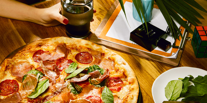 Premium Charcuterie Pizza from The Kitchen Table at W Bangkok on North Sathorn Road