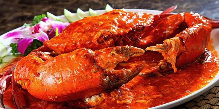 Chilli Crab from Heavenly Duck 天王鸭 at E! Avenue @ Downtown East in Paris Ris, Singapore