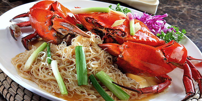 Crab with Noodles from Heavenly Duck 天王鸭 at E! Avenue @ Downtown East in Paris Ris, Singapore