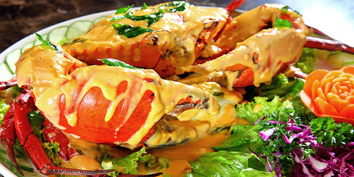 Salted Egg Yolk Crab from Heavenly Duck 天王鸭 at E! Avenue @ Downtown East in Paris Ris, Singapore