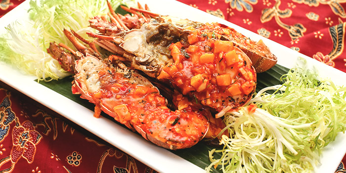 Cuba Lobster BBQ with Assam Manis from Spice Brasserie in Little India, Singapore
