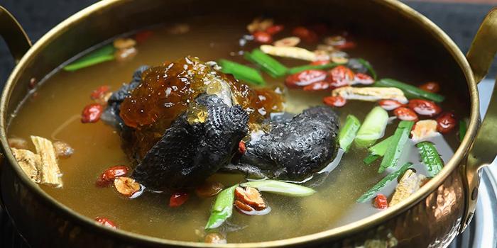 Deluxe Chicken Broth, Yang Xian Din Hot Pot, Tsuen Wan, Hong Kong