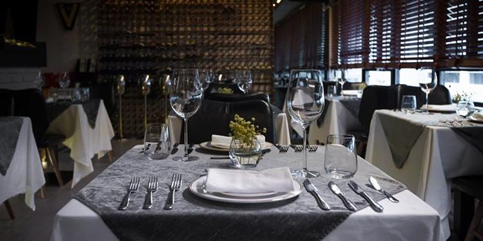Dining Area, Amina Modern European, Tsim Sha Tsui, Hong Kong