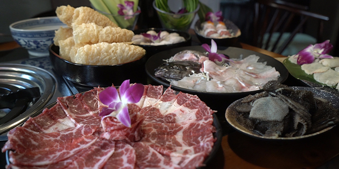 Meat, Yang Xian Din Hot Pot, Tsuen Wan, Hong Kong